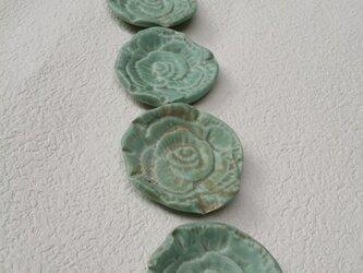 Rose 箸置き・お香立て〈blue①〉の画像
