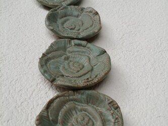 Rose 箸置き・お香立て〈blue②〉の画像