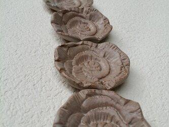 Rose 箸置き・お香立て〈ベージュ〉の画像