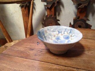 あじさい茶碗 W128 H61(mm)の画像