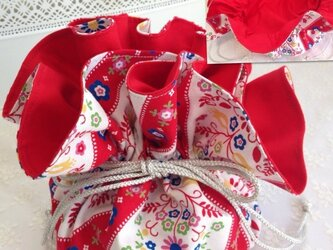 No.15 matryoshka flowery bagの画像