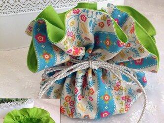 No.16 matryoshka flowery bagの画像