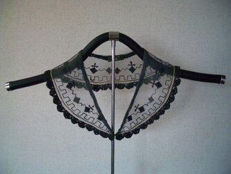 草絵木織り® 衿(花)星あかりの画像