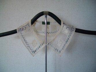 草絵木織り® 衿(花)瑞(ミズ)の画像