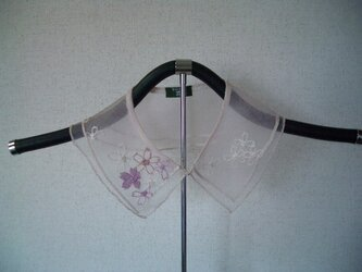 草絵木織り® 衿(花)さくらの画像