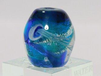とんぼ玉「Thetis・・海月玉」の画像