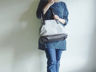 2way-bag  ~ mannish stripe ~の画像