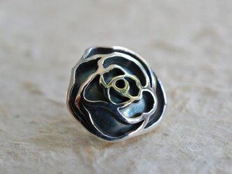 薔薇ピンブローチの画像