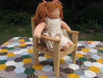 お人形椅子の画像