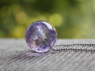 〜風雅〜 蜻蛉玉のネックレスの画像