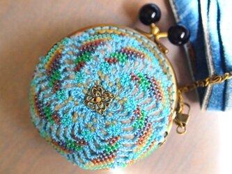 ビーズ編みがま口 - カオス&コスモスの画像