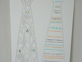 葉書〈Tie-3〉の画像