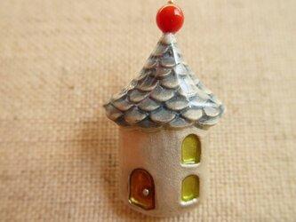 【再販】「P」様 ご注文分 とんがり屋根のお家 (青) の画像