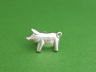 子豚ちゃんのピンブローチの画像