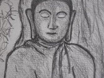 ランナーの仏さまの画像