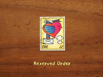 売約済・切手ペンダントの画像