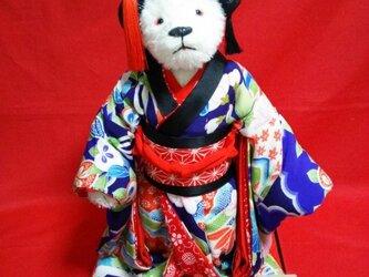 歌舞伎テディベアの画像
