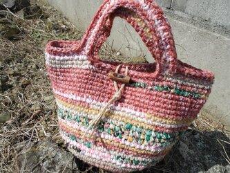 秋の花園バッグの画像