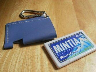 ミンティアレザーケース(ブルー)の画像