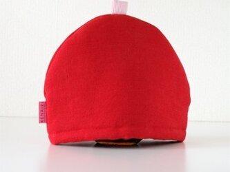 Tea Cozy(red)の画像