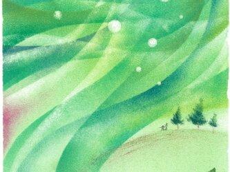 【原画】『静かな時』(パステルアート)の画像