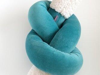Rope Cushion(green)の画像