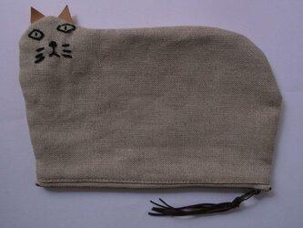 ポーチ - big cat -の画像