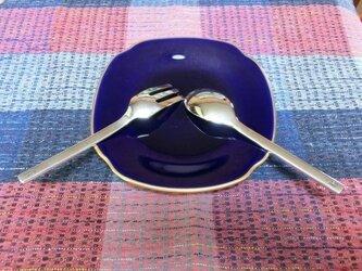 【銀のスプーン&フォーク】幸せな出産祝いに贈りましょうの画像