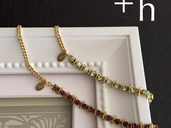 【ブレスレット(下)】Glitter bracelet PURの画像