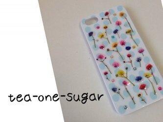 iPhone5/5s HAPPY pressed flowerの画像