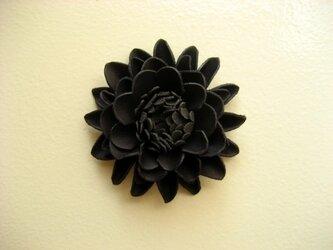 シューズクリップ・ダリア(ブラック)1個入り  の画像