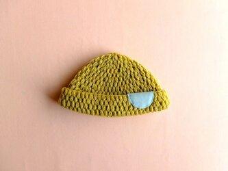 ベビーニット帽子 【受注制作】の画像