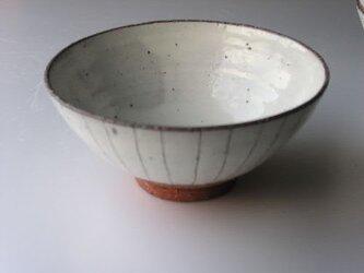 ごはん茶碗 (粉引線文飯わん)の画像