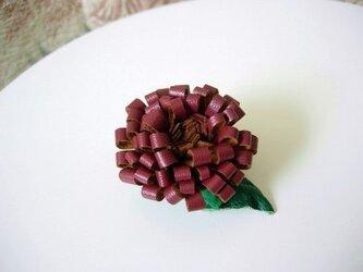 菊ブローチ②の画像