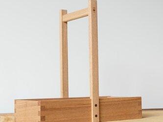 岡持型整理箱(タモ)の画像