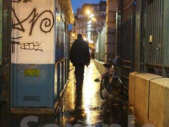 パリ 東駅の朝Ⅲの画像