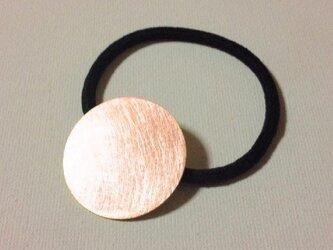 【再販】銅のヘアゴムの画像