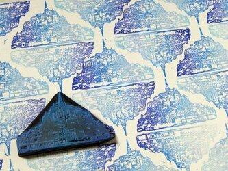 はんこ「モン・サン・ミッシェル」の画像