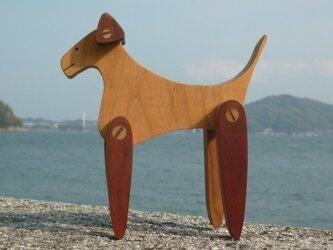 耳と足の動く犬の画像
