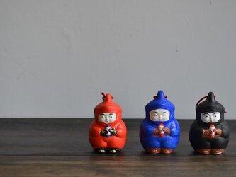 養肝漬 宮崎屋 [赤 忍者] 土鈴の画像