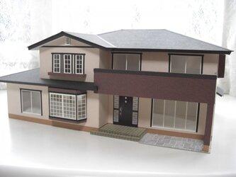 住宅模型 洋風家屋 (1)の画像