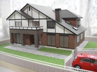 住宅模型 洋風家屋 (2)の画像