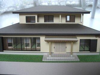 住宅模型 和風家屋 (3)の画像