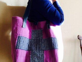 刺し子バッグ「正道」の画像