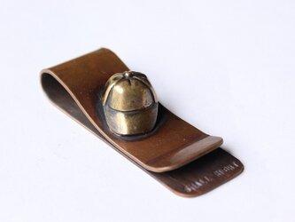 マネークリップ キャップ帽 br.verの画像