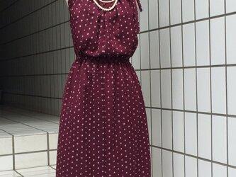 【SOLD OUT】古代紫のアンサンブルドレスの画像