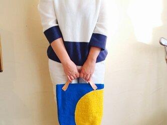 刺し子バッグ 「夏月美」の画像