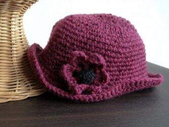 【SALE】おしゃまさんの 赤い帽子の画像