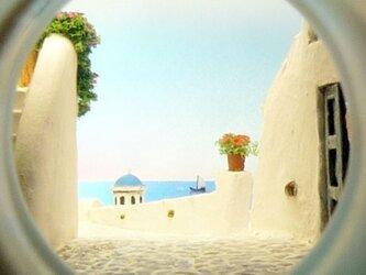ボトルスコープ ギリシャ サントリーニ島の画像