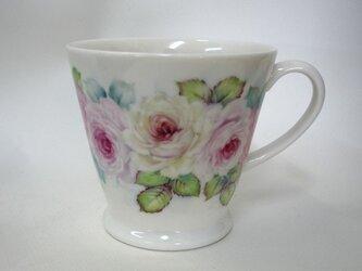 ぐるっと薔薇のマグカップ(1)の画像